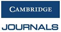 Cambridge University Press Journals